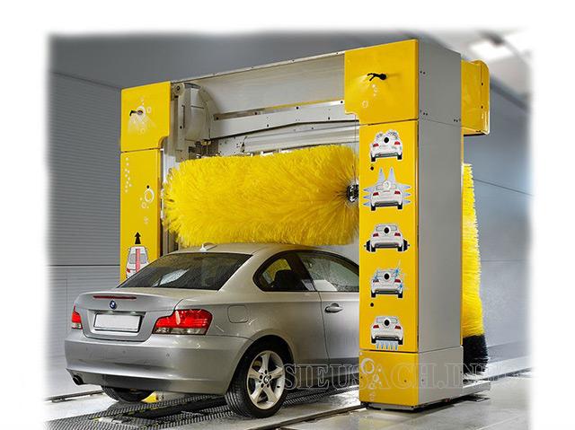 Hệ thống rửa xe tự động giúp tiết kiệm nhân lực vệ sinh