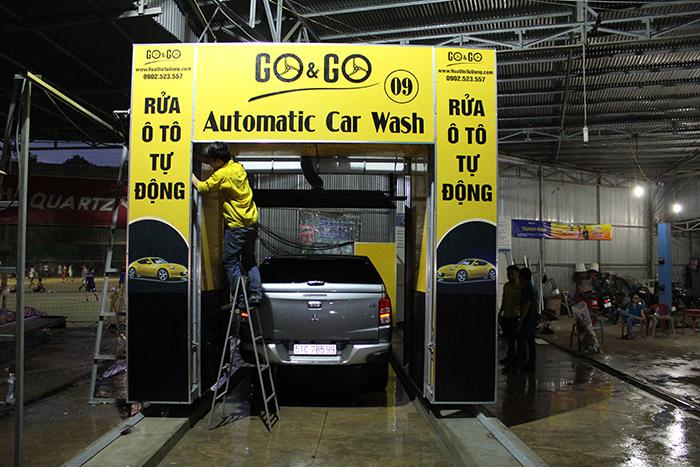 Công nghệ rửa xe không trạm có khả năng làm sạch vượt trội