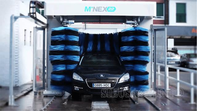 Máy rửa xe ô tô tự động thường có giá thành khá cao
