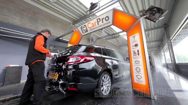 Hệ thống rửa xe bán tự động