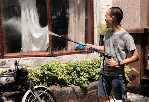 Chọn máy rửa xe gia đình có công suất đáp ứng được nhu cầu xịt rửa