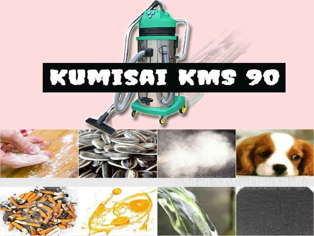 máy hút bụi 3 động cơ Kumisai KMS 90