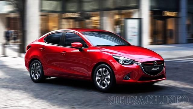 Xe ô tô tiết kiệm xăng nhất hiện nay Mazda 2 Sedan