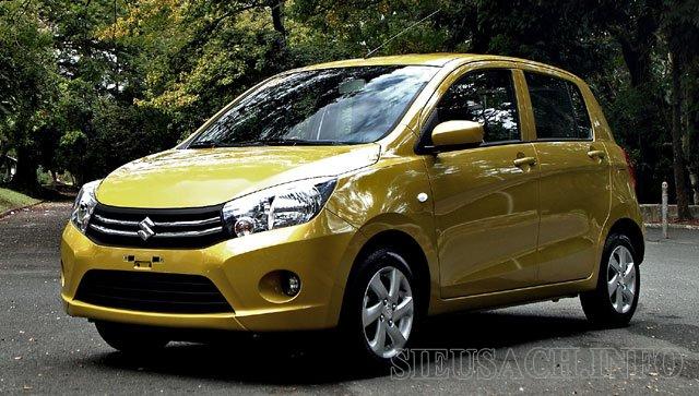 Xe ô tô tiết kiệm xăng nhất hiện nay Suzuki Celerio GL