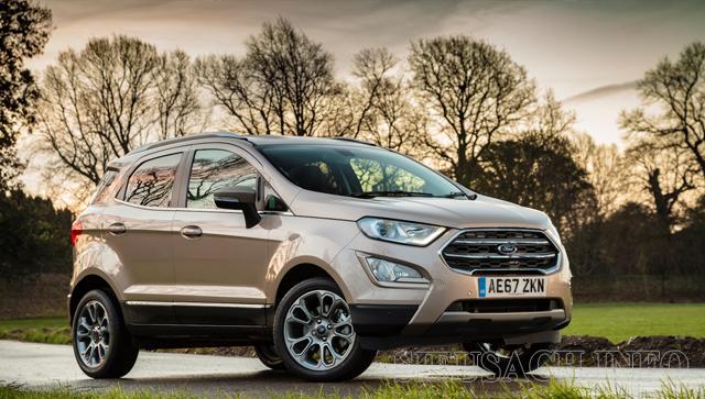 Xe ô tô tiết kiệm xăng nhất hiện nay Ford Ecosport