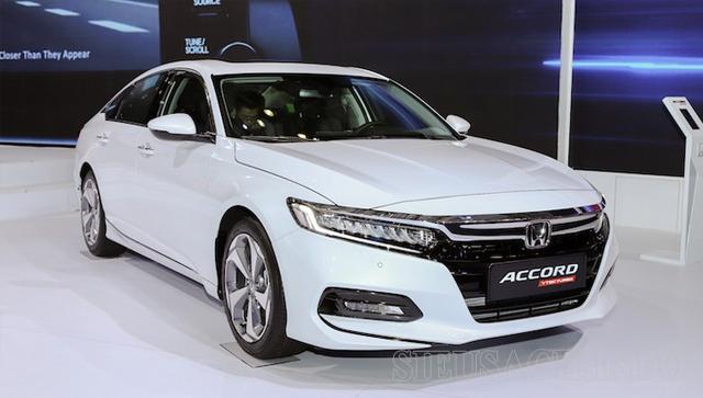 Xe ô tô tiết kiệm xăng nhất hiện nay Honda Accord