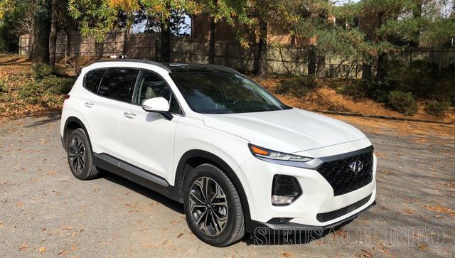Xe ô tô tiết kiệm xăng nhất hiện nay Honda Santa Fe