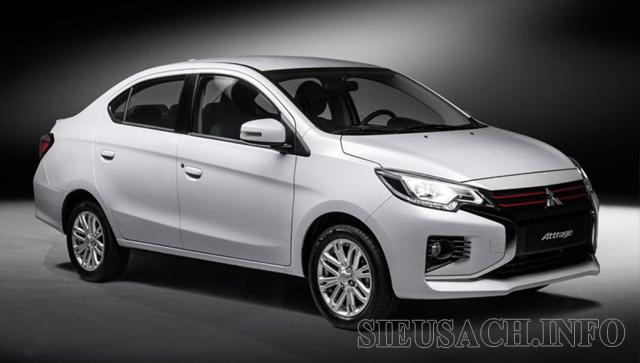 Xe ô tô tiết kiệm xăng nhất hiện na Mitsubishi Attrage