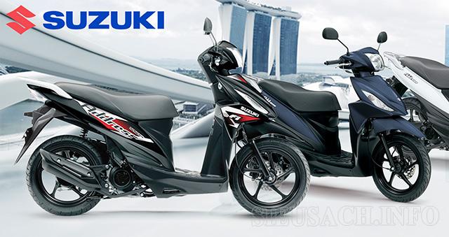 Suzuki Address 110Fi mẫu xe vận hành êm ái - tiết kiệm nhiên liệu