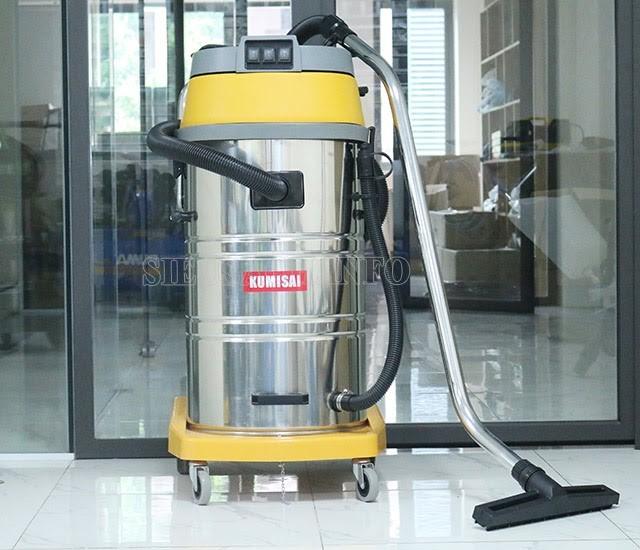 Máy hút công nghiệp hỗ trợ làm sạch nội thất xe