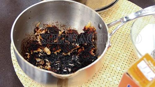 làm sạch nồi inox bị cháy