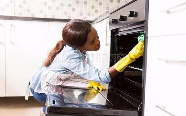 Mẹo làm sạch bếp cực nhanh 1