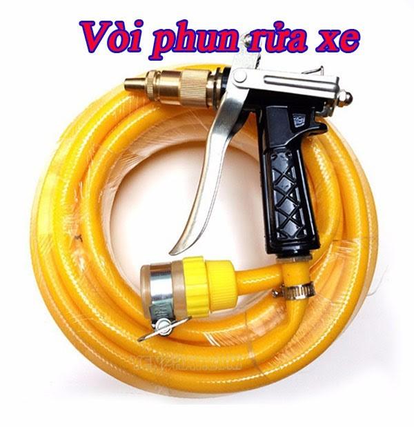 Vòi xịt rửa xe đi cùng máy bơm rửa xe