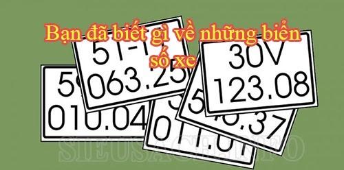 Điểm danh các biển số của Việt Nam