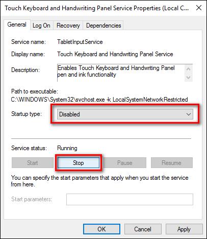 Cách vô hiệu hóa chuột cảm ứng trên laptop với Keyboard Service