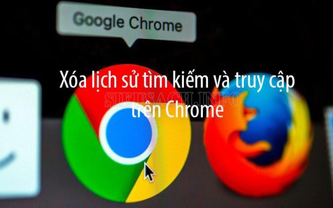Xóa trình duyệt Web trên Chrome thật đơn giản