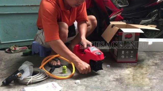 Tiến hành sửa chữa để đảm bảo hiệu suất làm sạch