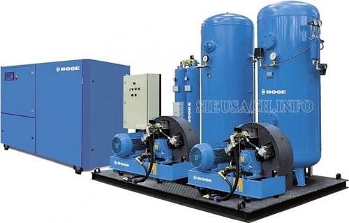 Bình chứa hơi khí nén đóng vai trò quan trọng trong hệ thống máy nén khí