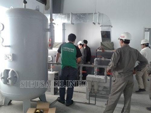 Bình chứa hơi khí nén được ứng dụng rất phổ biến