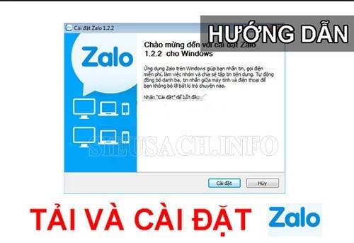 Cài đặt Zalo trên máy tính Win 10
