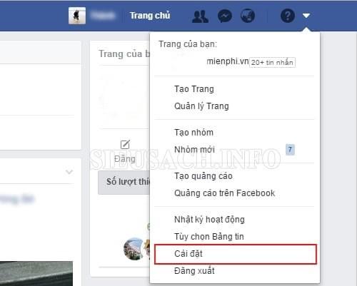 Cách thay pass Facebook trên máy tính thật đơn giản