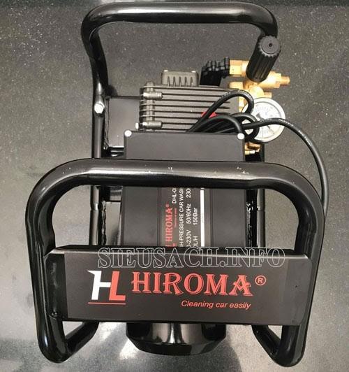 Hiroma DHL 0522 có thiết kế thông minh và hiệu năng làm sạch rất tốt
