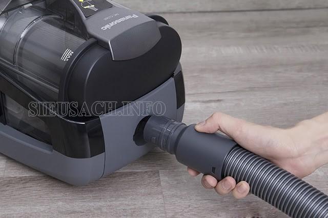 Lắp ống hút mềm với máy