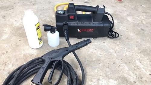 Thiết bị phun rửa xe mini Hiroma DHL 1707