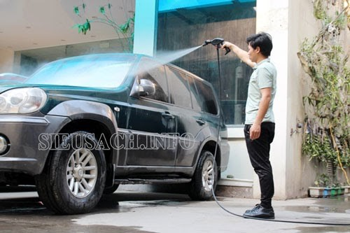 Thiết bị rửa xe Hiroma sở hữu nhiều ưu điểm nổi bật thu hút khách hàng