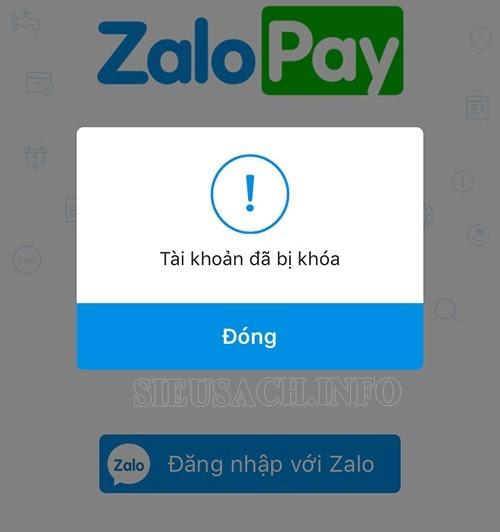 Vì sao tài khoản Zalo bị khóa?
