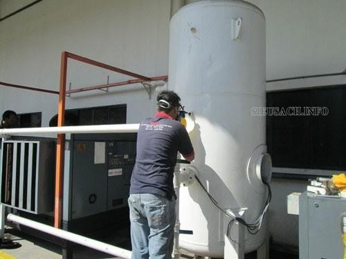 Việc thường xuyên kiểm tra, bảo dưỡng bình hơi là rất cần thiết
