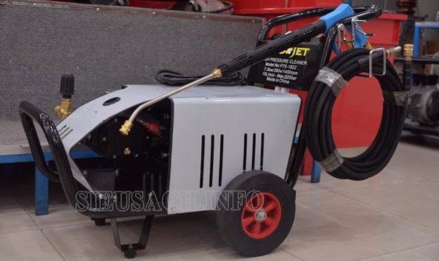 Đôi nét về máy bơm xịt rửa xe Projet
