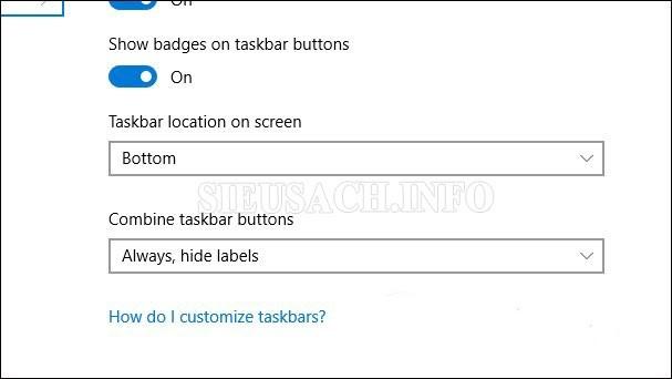 Điều chỉnh vị trí thanh Taskbar thật đơn giản