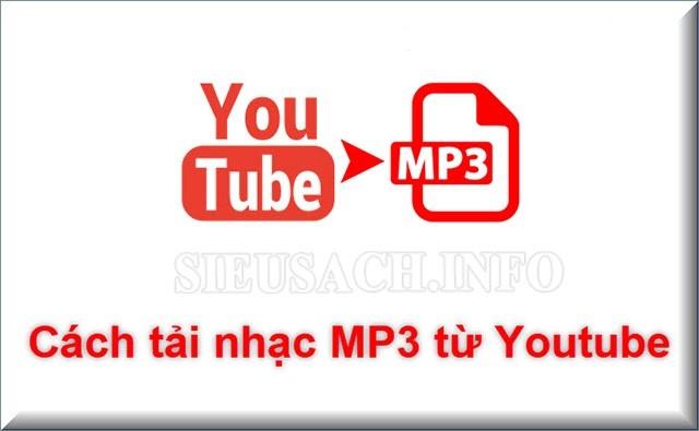 Cách lấy nhạc từ video trên Youtube
