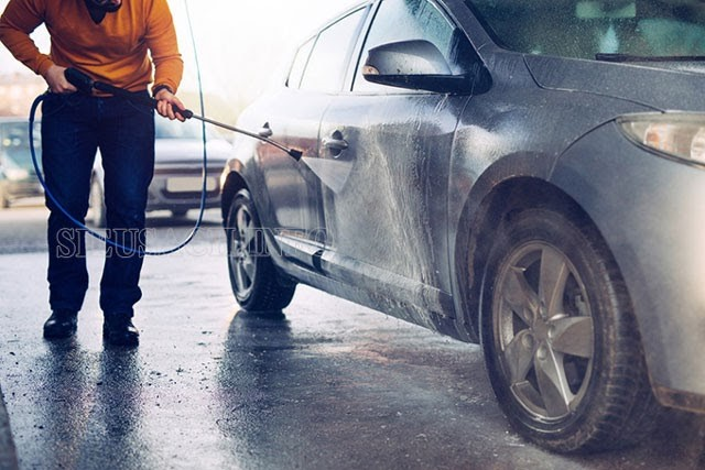 Cách sử dụng máy xịt rửa xe cao áp đúng cách