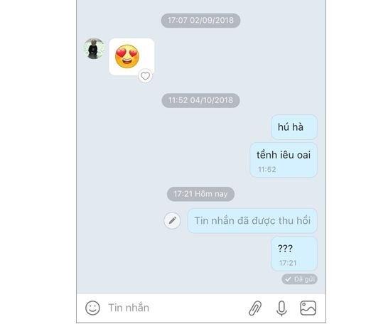 Cách thu hồi tin nhắn zalo sau 5 phút