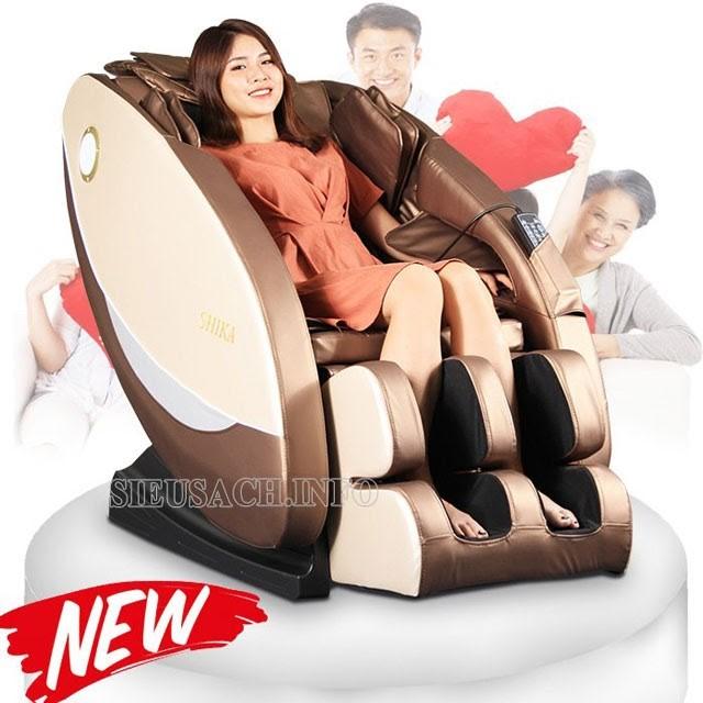 Ghế mát xa toàn thân là sản phẩm chăm sóc sức khỏe được sử dụng khá phổ biến