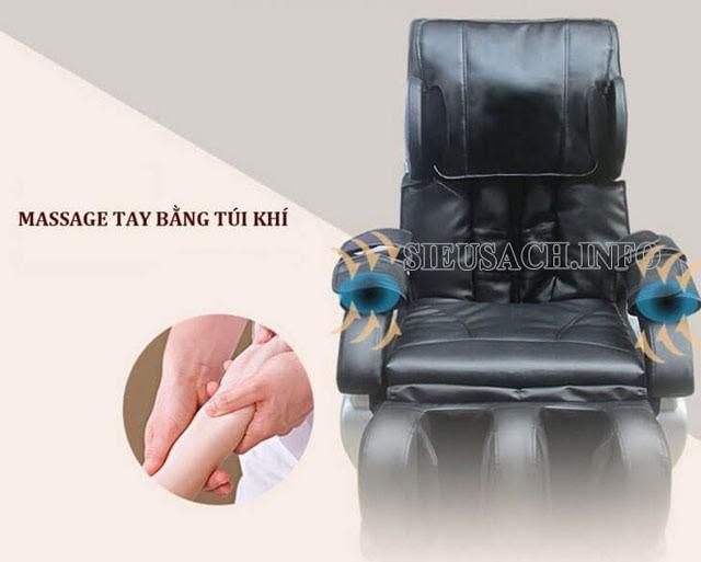 Ghế massage Nhật Bản có nhiều tính năng thông minh