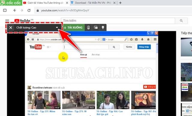 Hướng dẫn lấy nhạc từ youtube