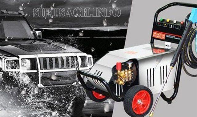 Máy bơm rửa xe chuyên nghiệp mang lại cho người dùng nhiều lợi ích