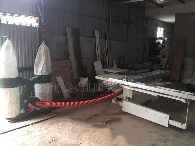 Máy hút bụi 2 túi vải đặc biệt thích hợp với máy cắt CNC