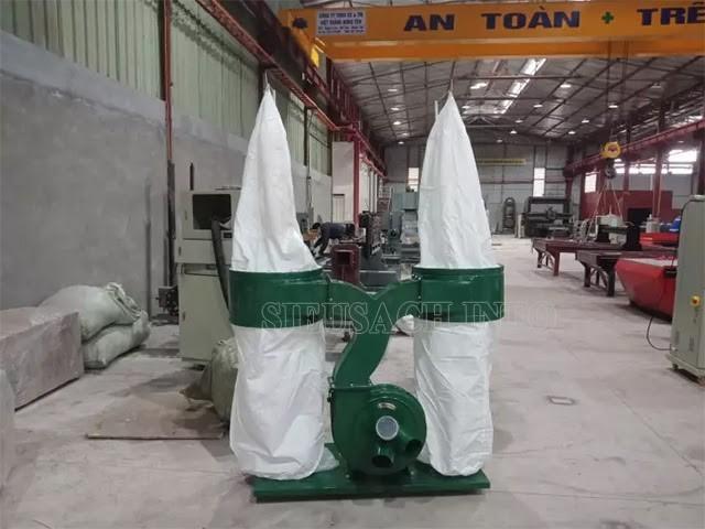 Máy hút bụi túi vải giúp nâng cao hiệu quả làm sạch bụi trong các nhà xưởng