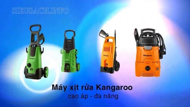 Máy xịt rửa xe Kangaroo là dòng sản phẩm đang được nhiều người quan tâm