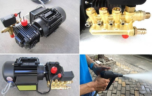Model rửa xe Projet đều được cấu tạo từ những linh kiện cao cấp