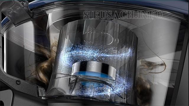Motor máy hút bụi Samsung mạnh mẽ
