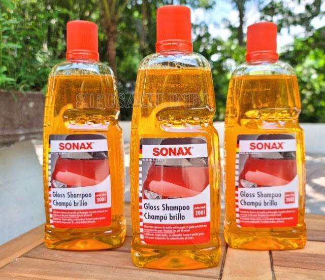 Nước rửa xe chuyên dụng của các thương hiệu nổi tiếng luôn được nhiều người ưa chuộng và sử dụng