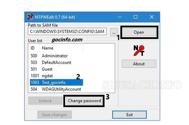 Nếu bạn quá mệt mỏi vì ghi nhớ pass thì hãy loại bỏ mật khẩu