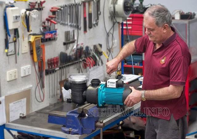 Cách xử lý khi rơ le áp lực nước máy rửa xe bị hư hỏng
