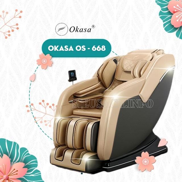 Ghế massage Osaka rất đa dạng về mức giá