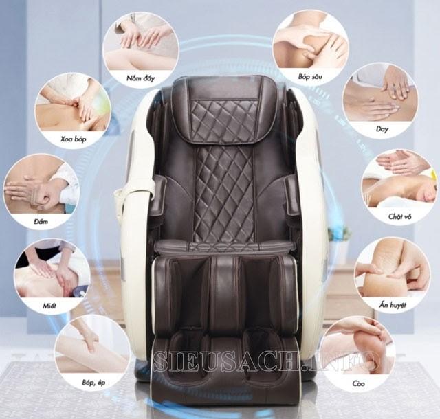 Ghế massage toàn thân Xiaomi giúp mát xa chuyên sâu